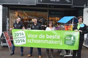 Beste Schoenmakerij van Nederland 2014